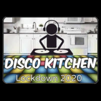 With CHARITY - Adults Disco Kitchen Lockdown 2020 T Shirt £10.00 Design