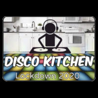 With CHARITY - Baby / Toddler Disco Kitchen Lockdown 2020 T Shirt £7.00 Design