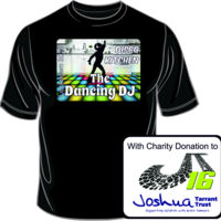 With CHARITY - Adults Disco Kitchen Dancing DJ T Shirt £10.00 Thumbnail