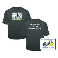 With CHARITY - Kids Disco Kitchen - No Glasses on the Dance Floor (BACK SLOGAN) T Shirt £10.50 Thumbnail